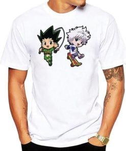 t-shirt gon killua bebe hunter x hunter