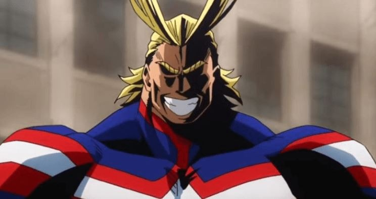 all might Toshinori Yagi