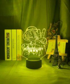 lampe monkey d luffy