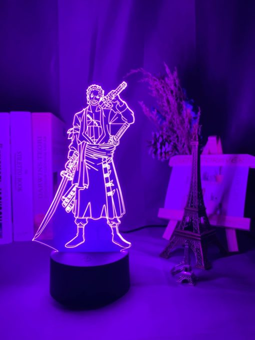 lampe roronoa zoro one piece