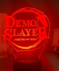 Lampe logo Demon Slayer