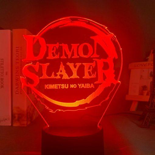 Lampe logo Demon Slayer