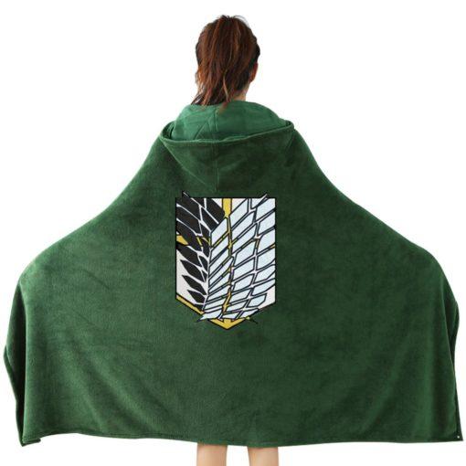 Couverture manteau Attaque des titans Cosplay