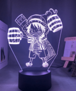lampe mini luffy one piece